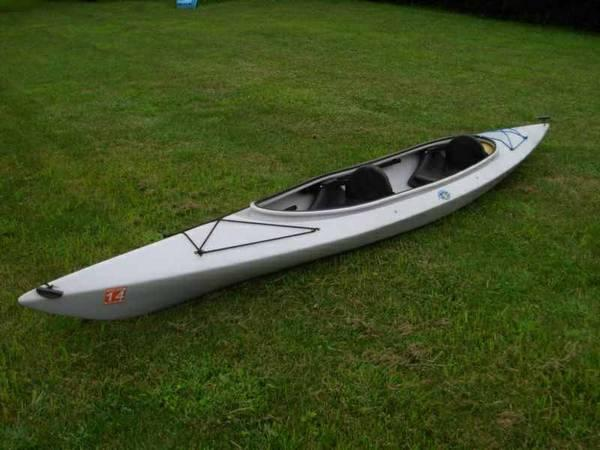 Wilderness Systems Pamlico Tandem Kayak w/2 Paddles and Hatch Cover - $500