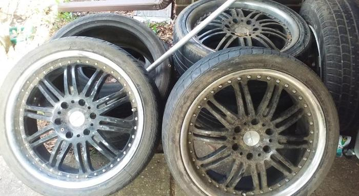 ★WILL NEGOTIATE★ Rims&Tires for low price