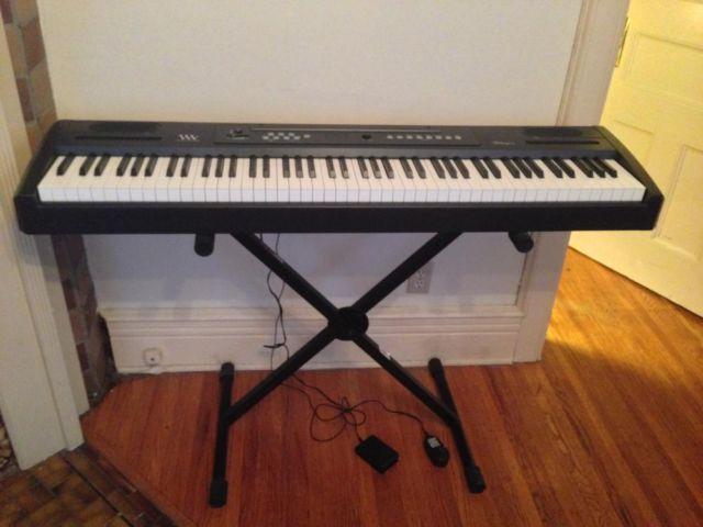 Williams Allegro 88-Key Digital Piano  Stand