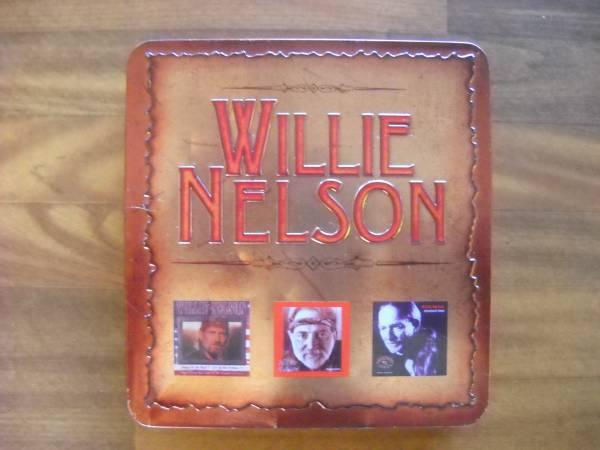 Willie Nelson 3 CD Tin Box Set - $10