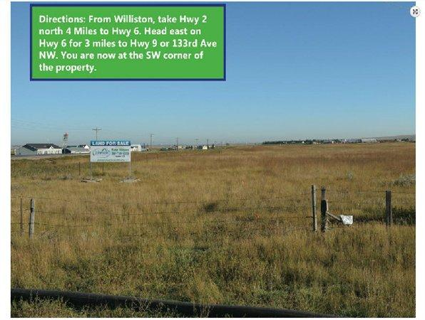 Williston, ND Williams Country Land 320.000000 acre