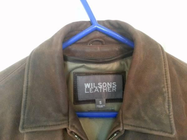 Wilson Leather Jacket/ Men's Small - for Sale in Edgewater