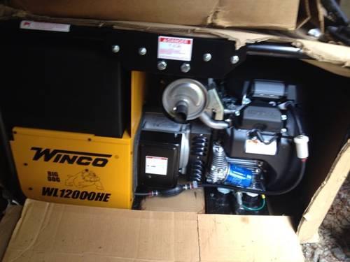 Winco Big Dog Generator