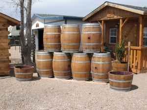 WINE BARRELS (Fallon)