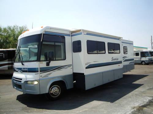 Winnebago Itasca Sunrise Double Slides Ford Chassis Gas