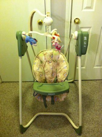 Winnie The Pooh Baby Swing For Sale In Mobile Alabama