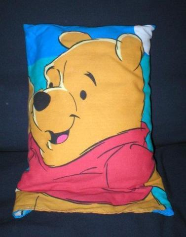 Winnie the Pooh Pillow -Travel Size - Never Used -