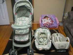 Winnie The Pooh Stroller Carseat Combo Bellevue For