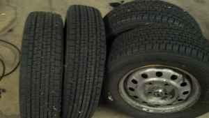 Winter Tires - $200 (Belvidere )
