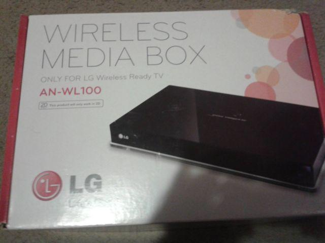 Wireless media box