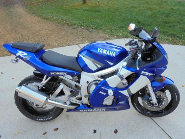 With 21000 Miles-Yamaha Yzf R1