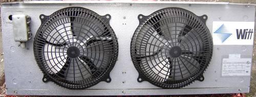 Witt walk in cooler evaporator model sa28 97ba dbl fan for Walk in cooler fan motor