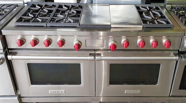 "Viking Range Parts >> Wolf Gas Range, 60"", 6 Burners, Grill & Griddle Awesome! for Sale in Manhattan, New York ..."