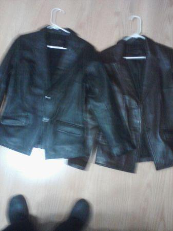 Woman Leather Jacket/ Coats - $15 (Strasburg, VA)