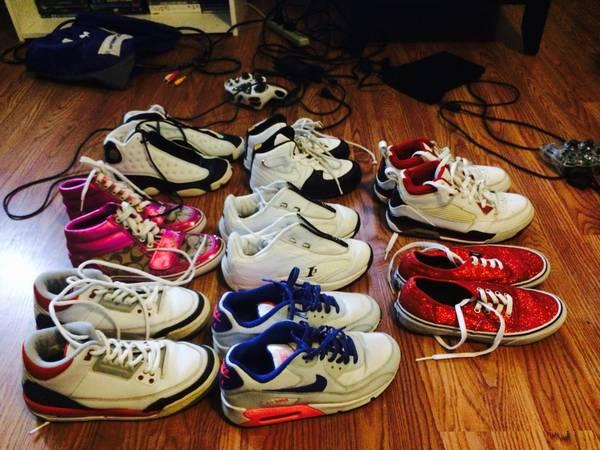 619a85f20e6a Woman s Youth Jordan s Nikes Vans Coach Shoes! for Sale in Yakima ...