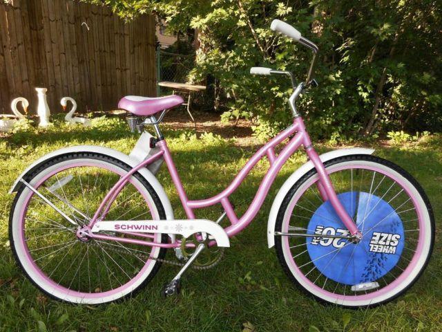 Women's Brand New Pink & White Schwinn Cruiser - Very Nice! Look