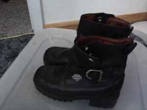 Womens Harley Davidson Boots - $50