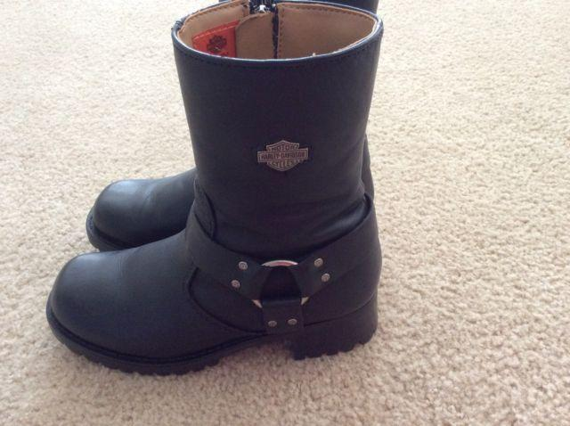 Womens Harley Davidson Harness Boots