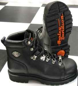 womens harley davidson steel toe dipstick boots sz 8 peosta for sale in dubuque iowa