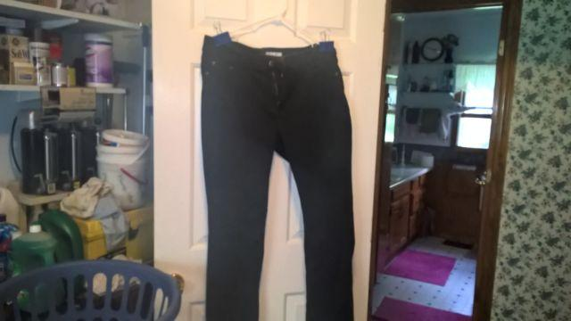 womens riders by lee mid rise skinny jeans size 16