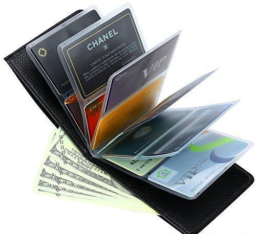 Wonder Wallet Amazing Slim Thin Rfid Security Credit Card Holder Case For Men And Women As Seen On Tv Extra Insert Sleeves
