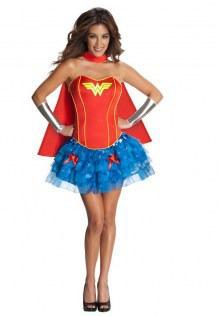 Wonder Woman Flirty Halloween Costume |Halloween