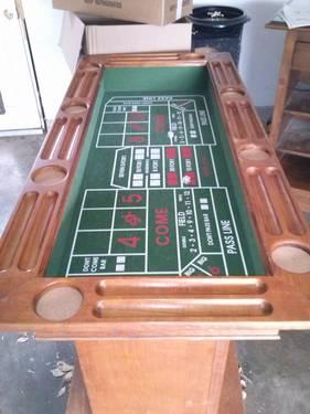 Wood Bar With Blackjack Table Roulette Table And Craps Table For Sale In Glenpool Oklahoma
