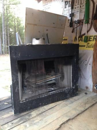 Wood Burning Fireplace Insert - $500