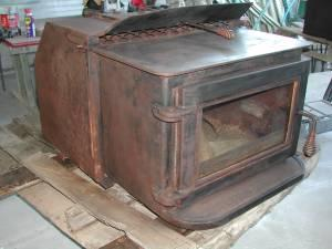 wood burning stove - $400 (winton)
