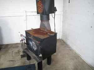 Wood Burning Stove Flu Heat Exchanger Anderson In
