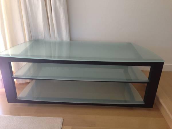 Wood & Glass Media Center - BDI - $119