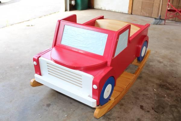 Toys For Trucks Wisconsin : Wood rocking truck for toddler and up sale in