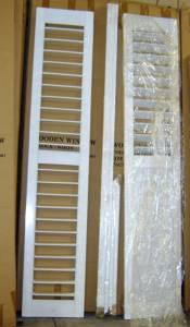 Wood Shutters Clearance - $75 (Katy, Tx Warehouse)