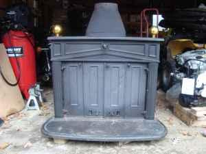 Wood Stove Ben Franklin Whitehall For Sale In Muskegon