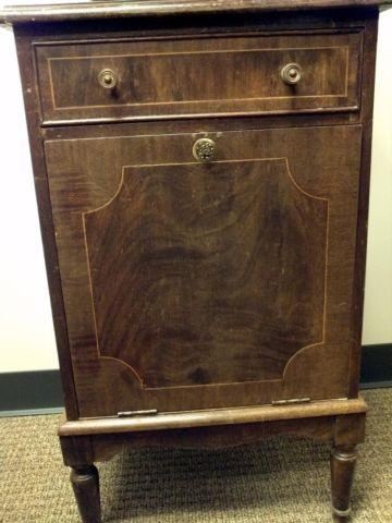 Wooden Antique Victrola Style Record Cabinet For Sale In Houston