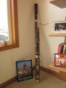 WOODEN BASSOON - $1500 (MUSKEGON,MI)