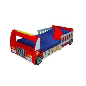 Wooden Firetruck Toddler Bed   (Owego, NY) for Sale in Binghamton