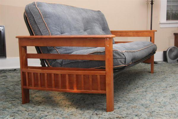 wooden futon sofa bed windber pa for sale in altoona pennsylvania classified. Black Bedroom Furniture Sets. Home Design Ideas
