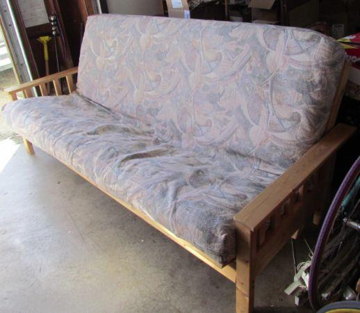 Wooden ikea futon for sale in daly city california for Futons for sale ikea