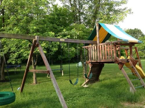 Woodplay Brand Outdoor Play Set For Sale In Brownsburg