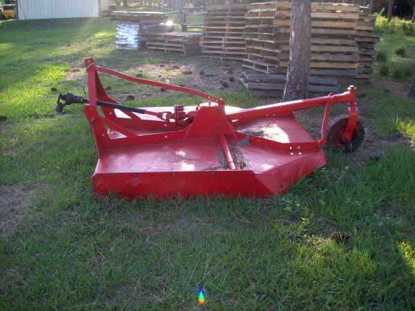 Woods Cadet 6 ft Rotary Mower Cutter Bushhog - $600
