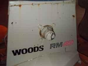 Woods RM 48 Finish Mower - $700 (Sumner, IL)