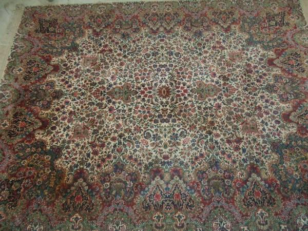 wool rug by karastan - $600