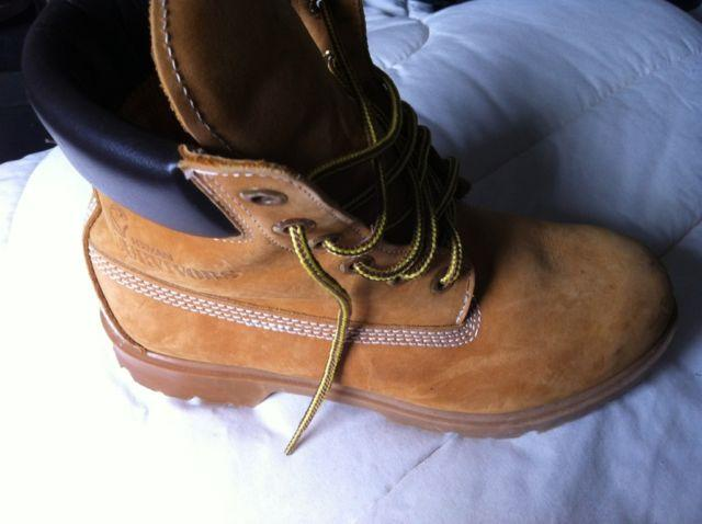 Work Boots Tan Hermann Survivor Size 7