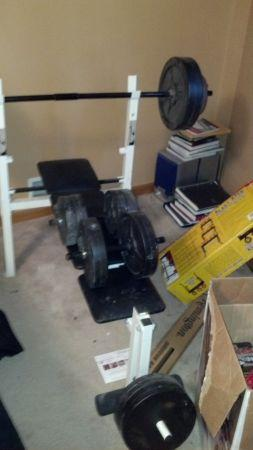 Workout Equipment (Union Grove)