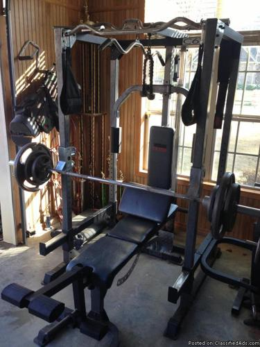 Workout Equipment Weider Club C670 For Sale In Texarkana