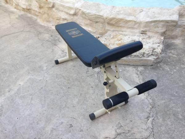 Workout Situp Bench University Equipment For Sale In Briarcliff Texas Classified