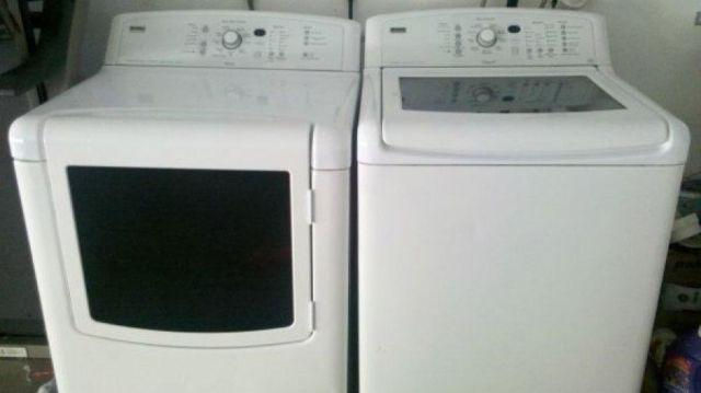 Works Great Kenmore Elite Oasis Washer And Dryer Canyon