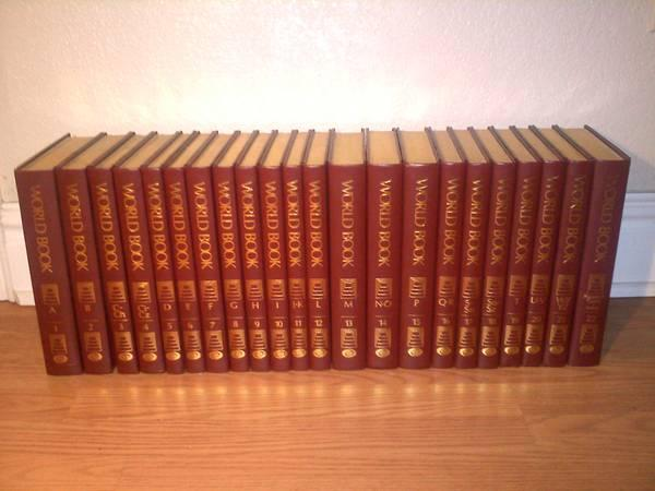 World Book Encyclopedia Complete 22-Volume Set w/ Gold
