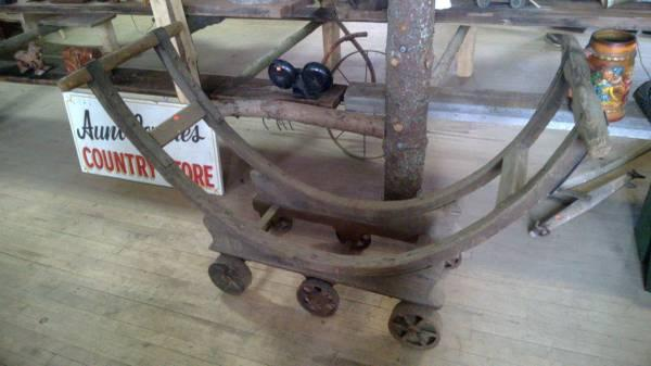 WOW gaint wine barrel Cart - $875